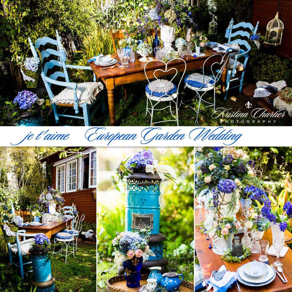 European Garden Wedding 5 ...