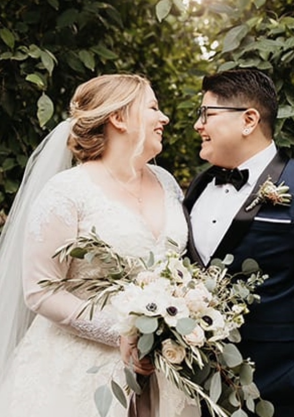 Congratulations Amanda and Andrea at Lorimar Winery