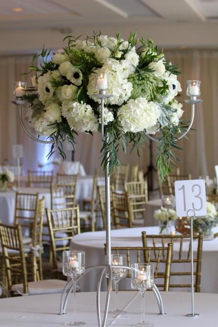 Gold, Silver and White Wedding Kona Kai San Diego