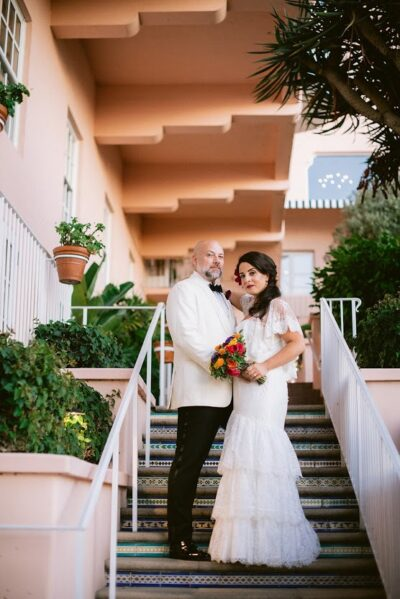 La Valencia Fall Wedding